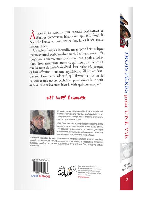 Livre- Trois pères pour une vie